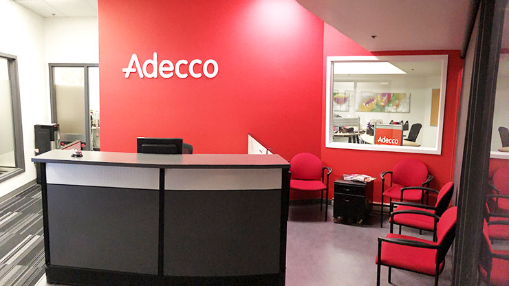 Adecco Saint John reception