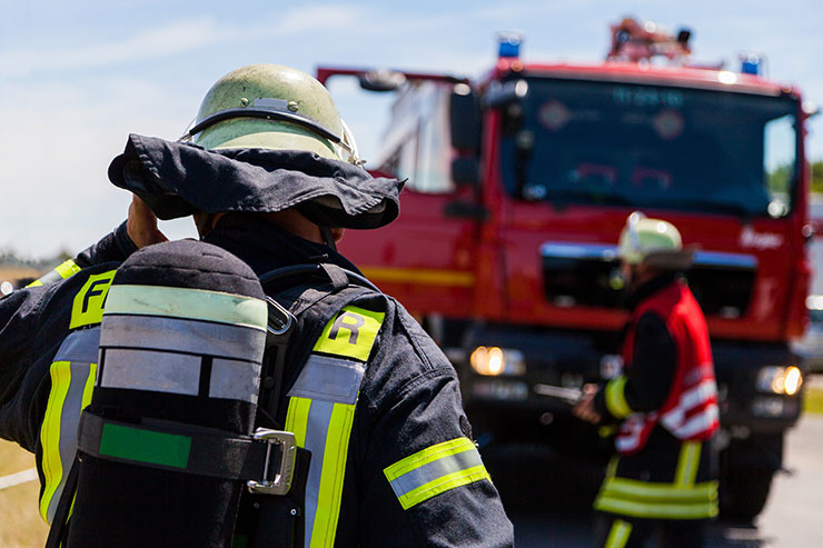 Jobs that pay well without a degree: firefighter.