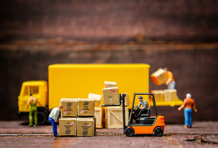 How to hire a temp worker: miniature warehouse