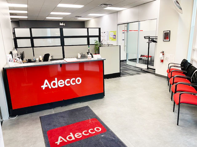 Adecco London reception