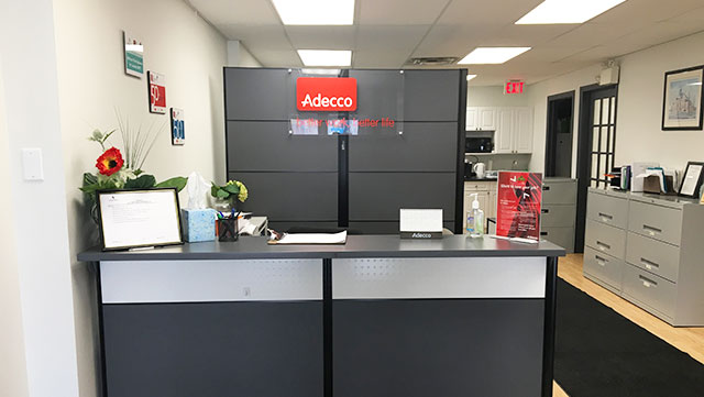 Adecco Orangeville reception