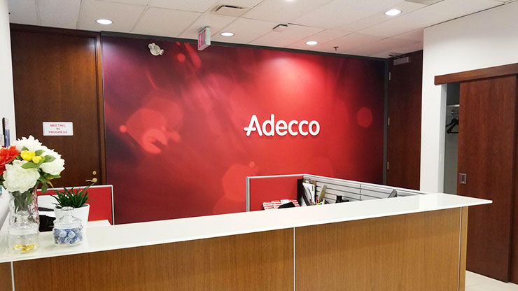 Determining competitive salary for employees: Adecco Staffing Agency